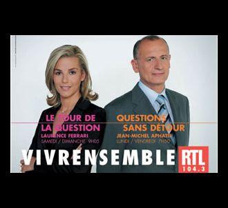 Laurence Ferrari et Jean-Michel Aphatie sont sur RTL