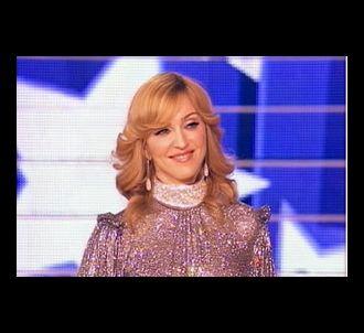Madonna sur le plateau de 'Star Academy', le 11 novembre...