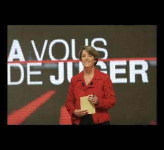 Arlette Chabot présente 'A vous de juger sur France 2