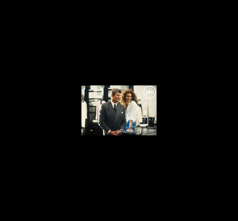 "Richard Gere et Julia Roberts dans ""Pretty woman""."