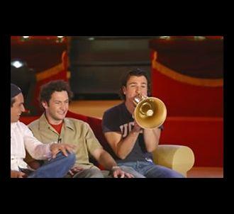 Benjamin, Vincent, Michael Youn dans 'Michael Youn : le...