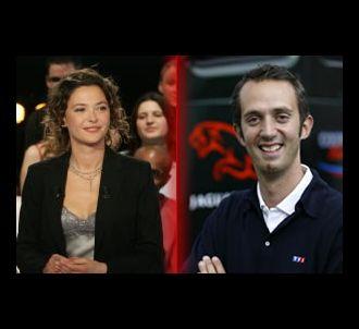 Sandrine Quétier et Guillaume Lacroix