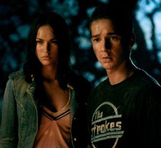 Megan Fox et Shia LaBeouf dans 'Transformers'
