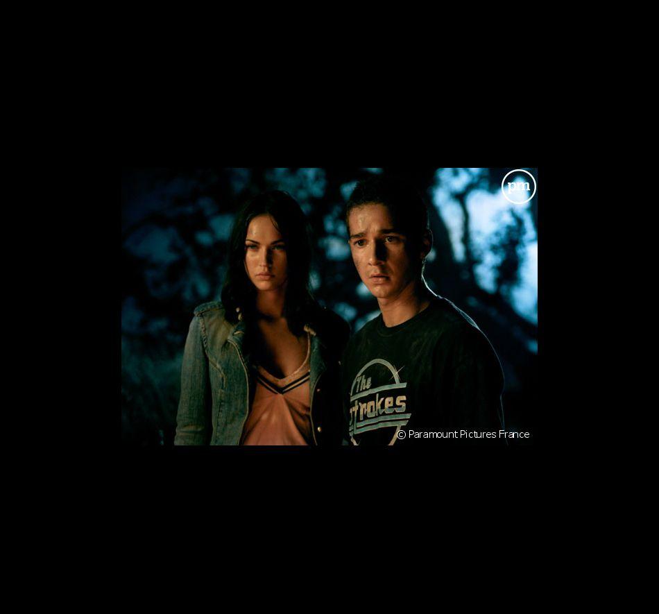 """Megan Fox et Shia LaBeouf dans """"Transformers"""""""