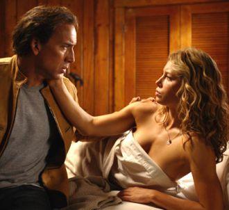 Nicolas Cage et Jessica Biel dans 'Next'.