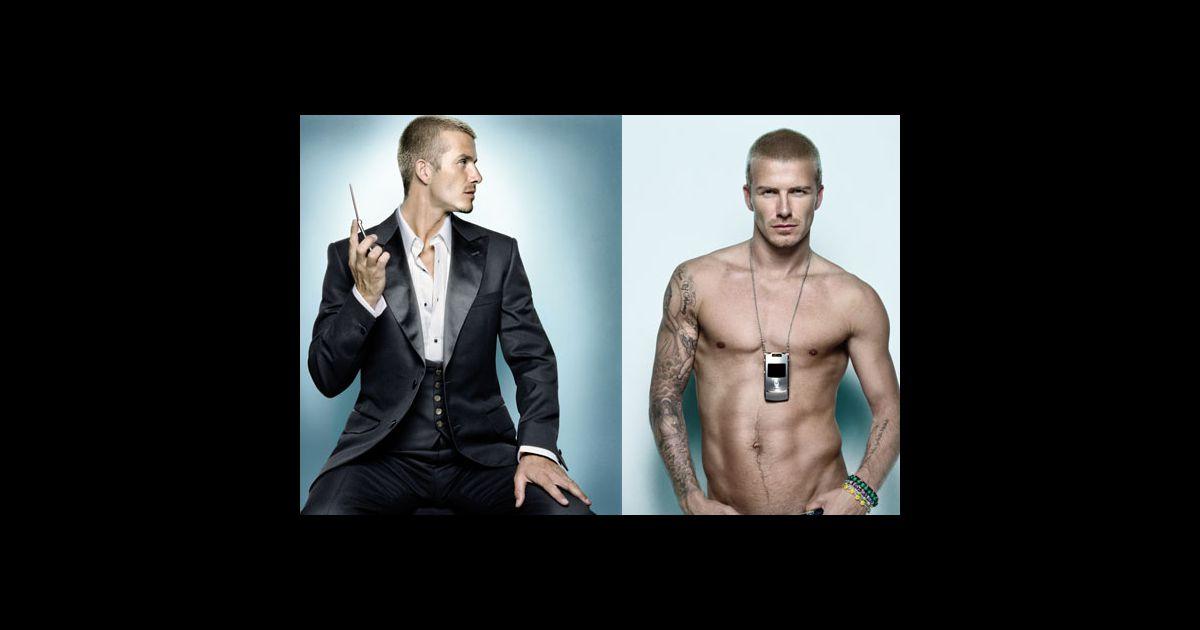 David Beckham En Campagne Pour Motorola Photo Puremedias
