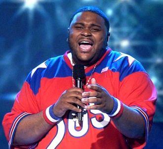 Ruben Studdard sur le plateau d''American Idol'