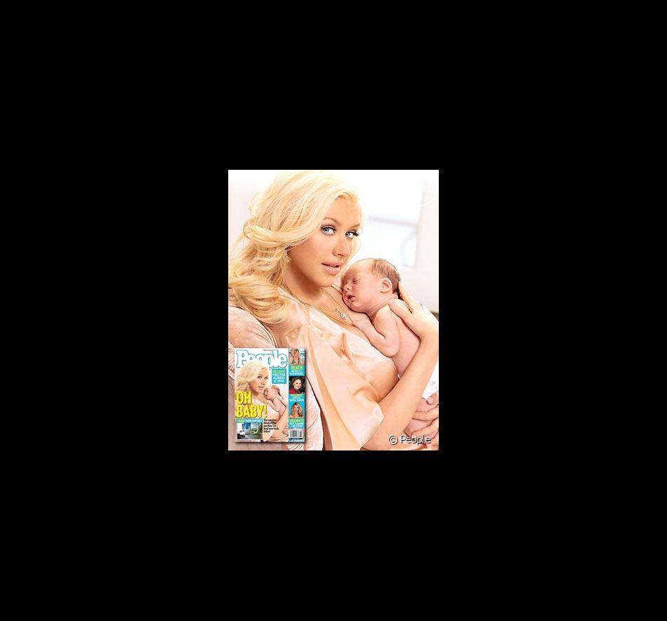 Christina Aguilera dans People