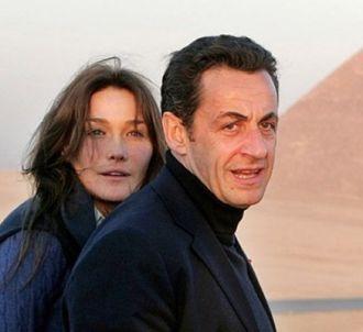 Nicolas Sarkozy et son épouse, Carla Bruni-Sarkozy.
