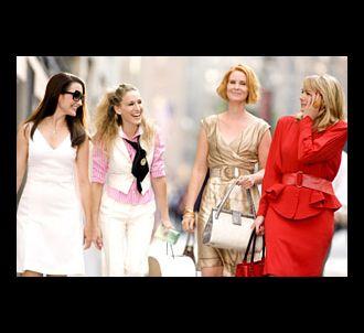 Kristin Davis, Sarah Jessica Parker, Cynthia Nixon et Kim...