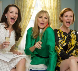 Kristin Davis, Kim Cattrall et Cynthia Nixon dans 'Sex &...