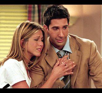 Jennifer Aniston et David Schwimmer dans 'Friends'
