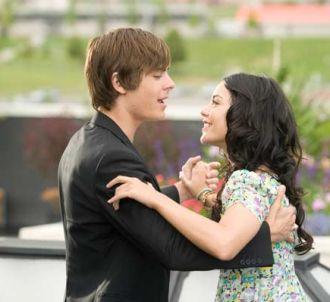 Zac Efron et Vanessa Hudgens dans 'High School Musical 3'