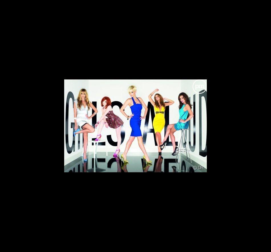 """Les Girls Aloud sur la pochette de """"Out of Control"""""""