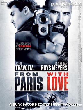 Affiche : FROM PARIS WITH LOVE