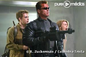"""Arnold Schwarzenegger dans """"Terminator 3 : le soulèvement des machines""""."""