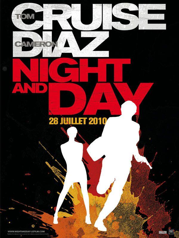 """Affiche de """"Night and Day"""""""