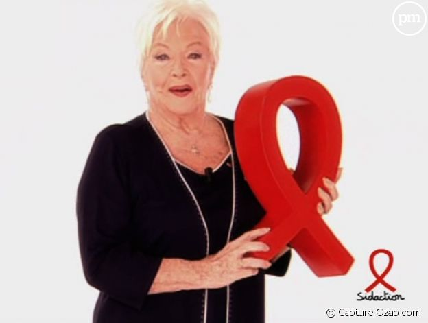 Line Renaud lance le Sidaction 2010.