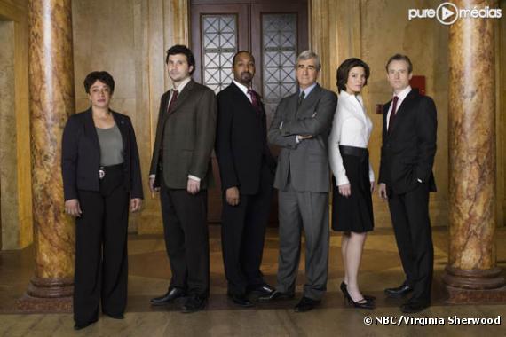 """L'équipe de """"New York Police Judiciaire"""""""