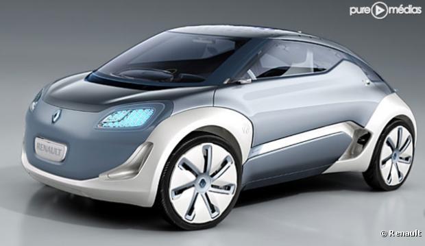 Le concept-car Zoe de Renault