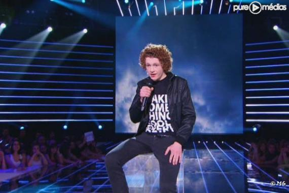 "Benjamin, candidat de ""Nouvelle Star"" 2010"