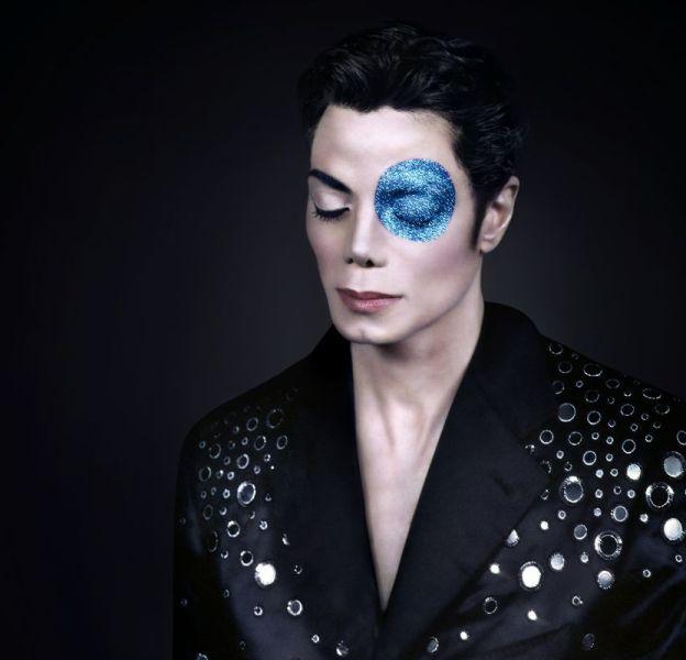 Michael Jackson photographié par Arno Bani, en 1999