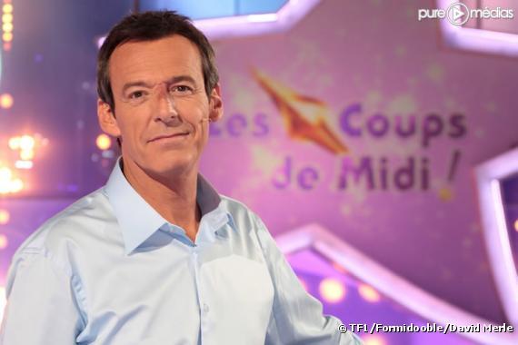 """Jean-Luc Reichmann sur le plateau des """"12 coups de midi"""""""