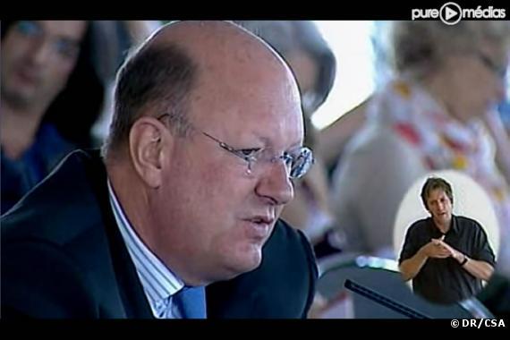 Rémy Pflimlin, lors de son audition devant le CSA le 8 juillet 2010