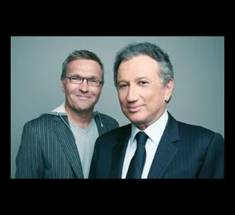 Laurent Ruquier et Michel Drucker