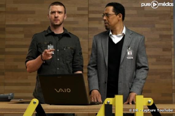 Justin Timberlake dans la pub Sony VAIO