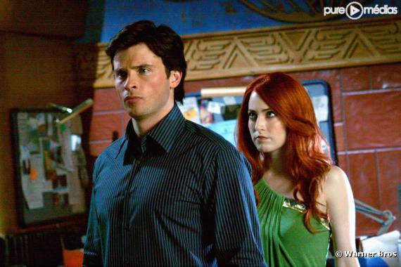 """Tom Welling et Charlotte Sullivan dans """"Smallville"""""""