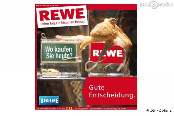 Paul Le Poulpe, dans une publicité en Allemagne