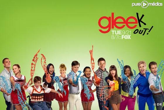 """""""Glee"""" photo promo de la saison 2"""