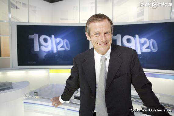 France 3 laurent bignolas claque la porte du 19 20 - Laurent bignolas vie privee ...
