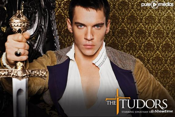 "Jonathan Rhys Meyers dans la série ""The Tudors""."