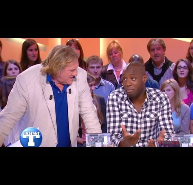 Gérard Depardieu et Quinze.