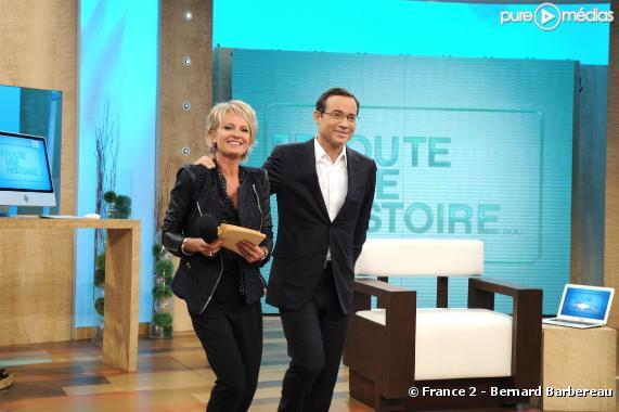 Sophie Davant et Jean-Luc Delarue