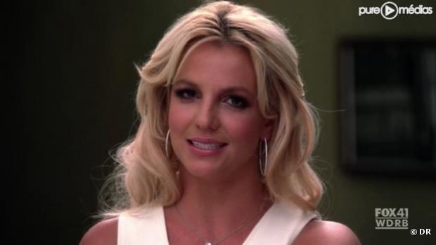 "Britney Spears dans ""Glee""."