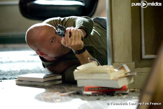 "Bruce Willis dans ""Die Hard 4 - Retour en enfer"""