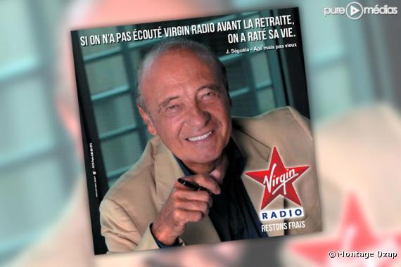 Publicité Virgin Radio publiée en octobre 2010.