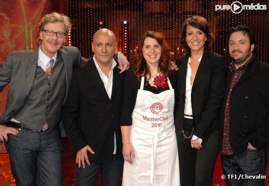 Sébastien Demorand, Fréderic Anton, Anne, Carole Rousseau et Yves Camdeborde