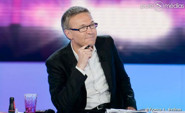 """Laurent Ruquier sur le plateau de """"On va s'gêner"""" sur France 4"""