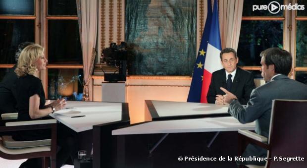 Nicolas Sarkozy, le 16 novembre 2010