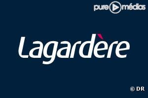 """Le logo du groupe """"Lagardère""""."""