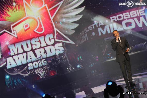 "Nikos Aliagas présente les ""NRJ Music Awards"""