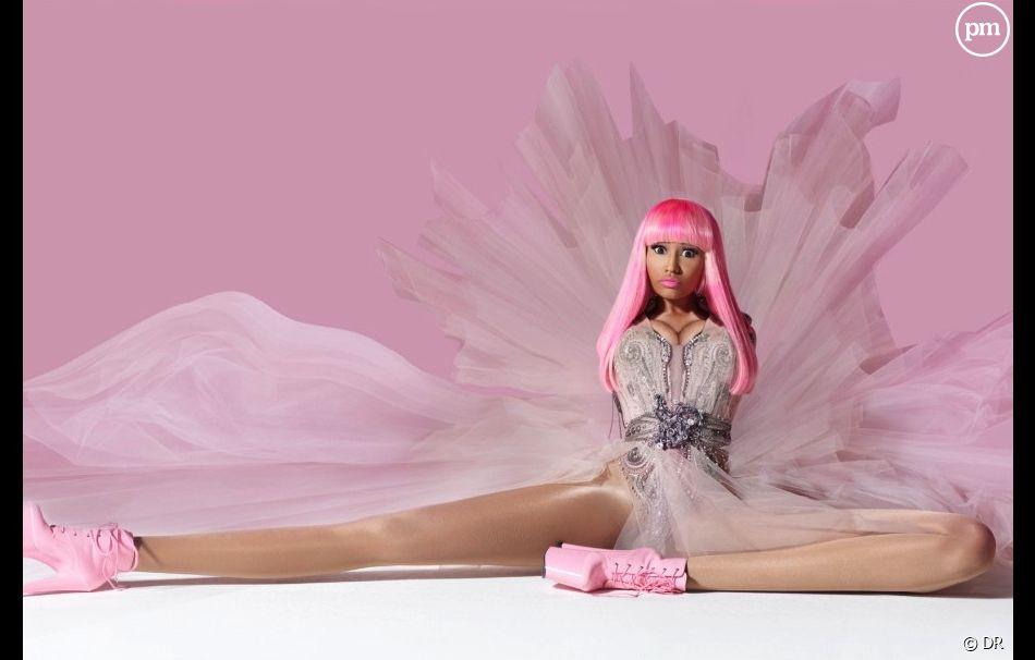"""Nicki Minaj sur la pochette de """"Pink Friday"""""""