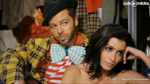 Christophe Maé et Jenifer dans le clip des Enfoirés 2011
