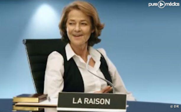 Charlotte Rampling, dans une publicité pour Allianz