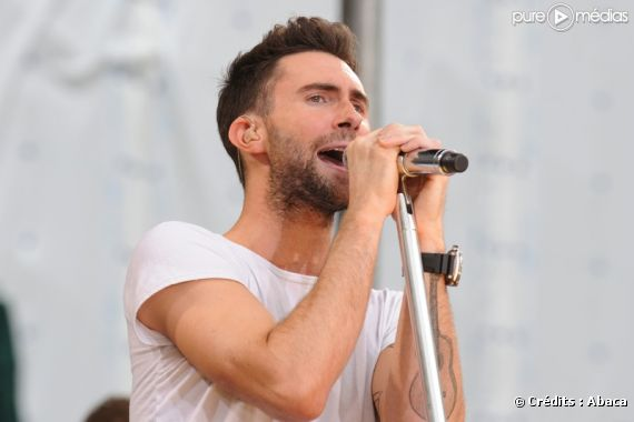 Adam Levine, chanteur du groupe Maroon 5 - photo