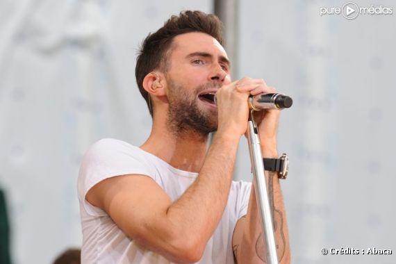 Adam Levine, chanteur du groupe Maroon 5